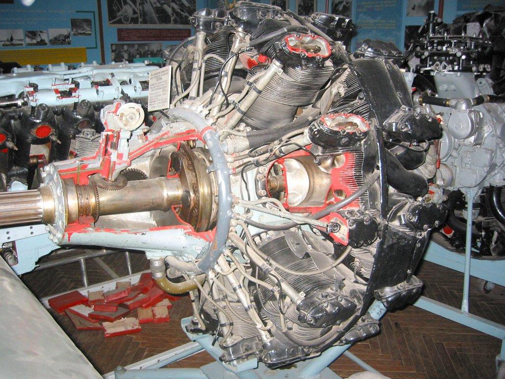 Авиадвигатель АШ-82ФН