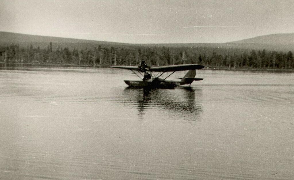 Фотографии сделаны в 1955 г. Владимиром Фёдоровичем Козикиным, бывшим геологом. .  Эти самолёты использовались для...