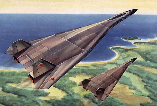 Самолет Т-4МС