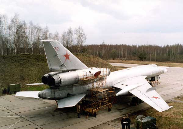 ТУ-22У 121-го ТБАП в Мачулищах (1993)