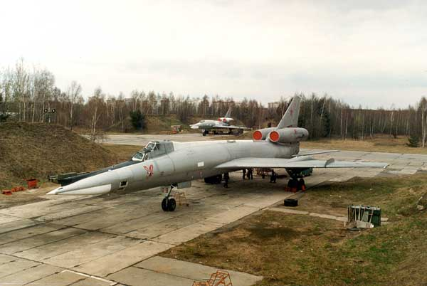 ТУ-22К 121-го ТБАП в Мачулищах (1993)