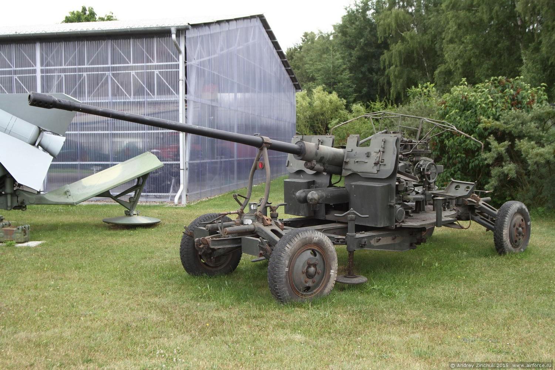 вооружение ПВО - пушка С-60