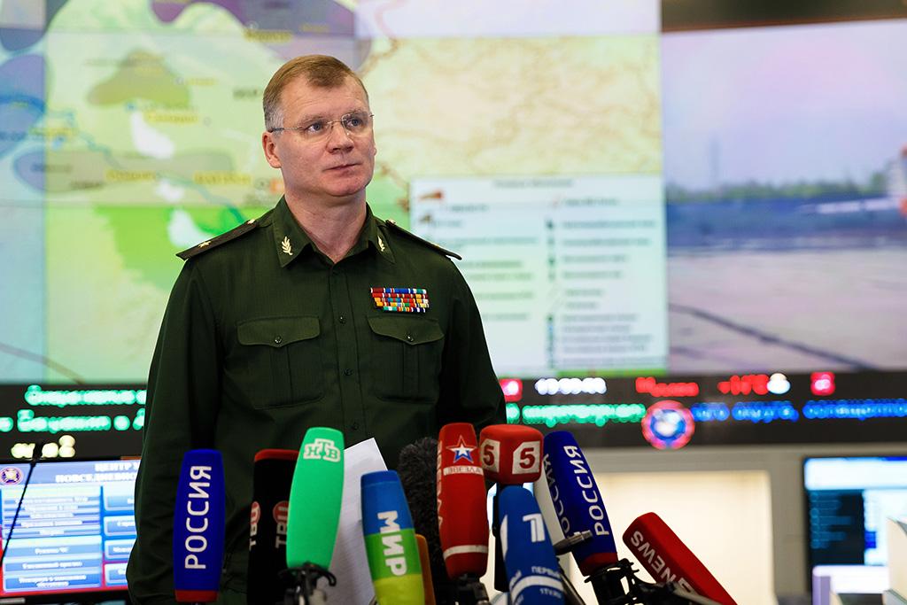 Генерал-майор Конашенков