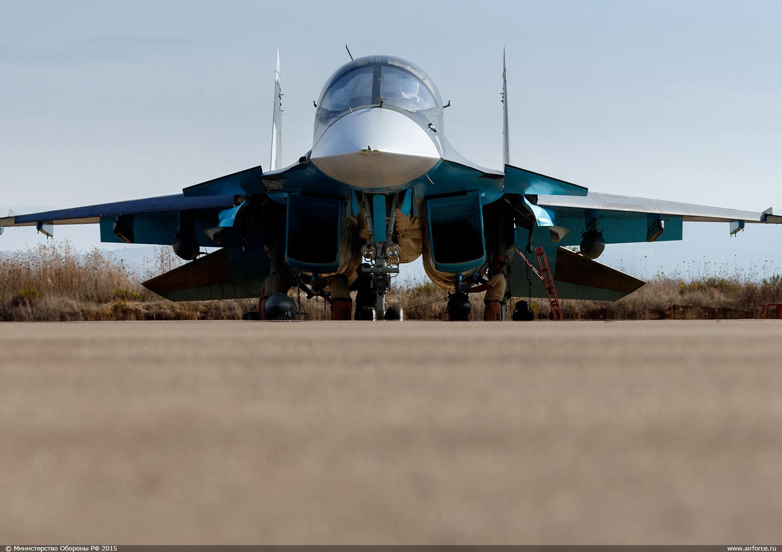Су-34, Хмеймим, Сирия