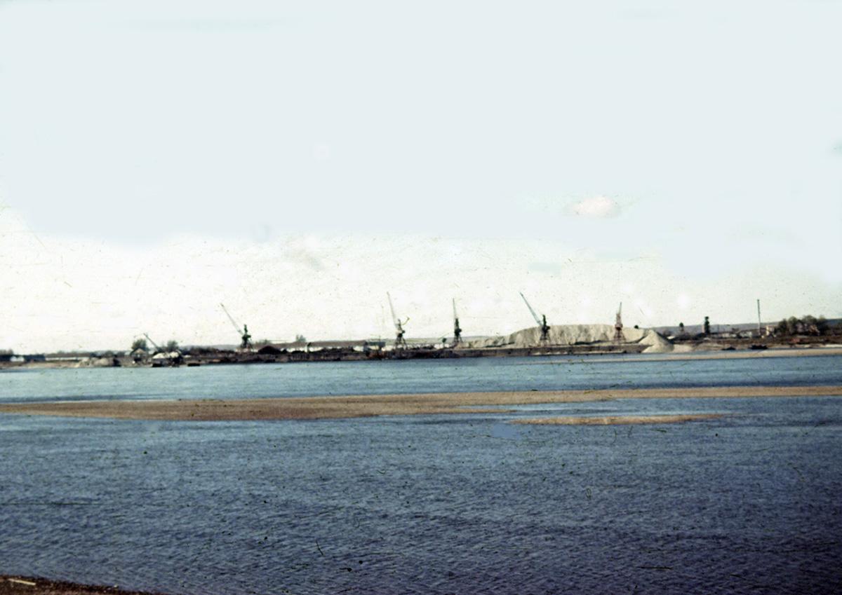 Вид на порт г. Свободного