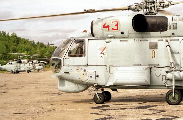 俄罗斯 卡-27/卡-28反潜直升机 卡-29武装运输直升机